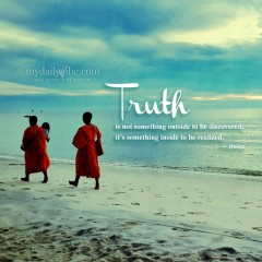 Truth is not something outside by Osho