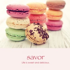 Savor e-card: Life is sweet and delicious — $1.95