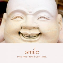 Smile e-card: Every time I think of you, I smile — $1.95