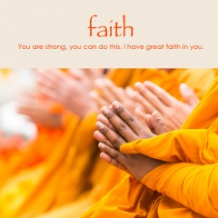 Faith e-card: You are strong, you can do this. I have great faith in you. — $1.95