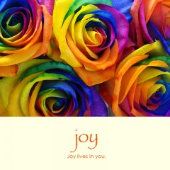 Joy e-card: Joy lives in you — $1.95