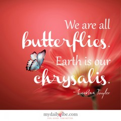 We Are all Butterflies by LeAnn Taylor