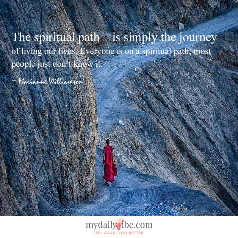 The Spiritual Path by Marianne Williamson
