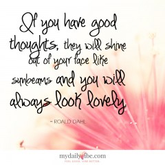 If You Have Good Thoughts by Roald Dahl