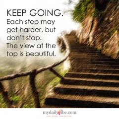Keep Going by Anonymous