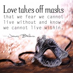 Love Takes Off Masks by James Baldwin