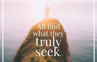 All Find What They Truly Seek by C.S. Lewis